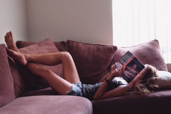 hanssie-reading-alone-time